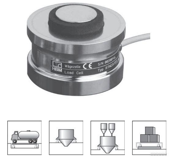 德国HBM称重传感器1-RTN0.05/100T